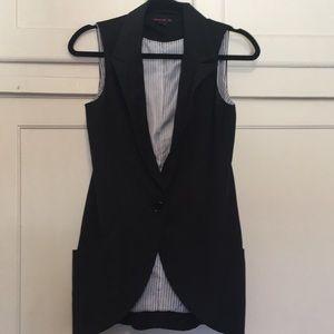 Black Vest For Woman